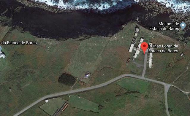 Base Americana Loran de Estaca de Bares, Galicia.